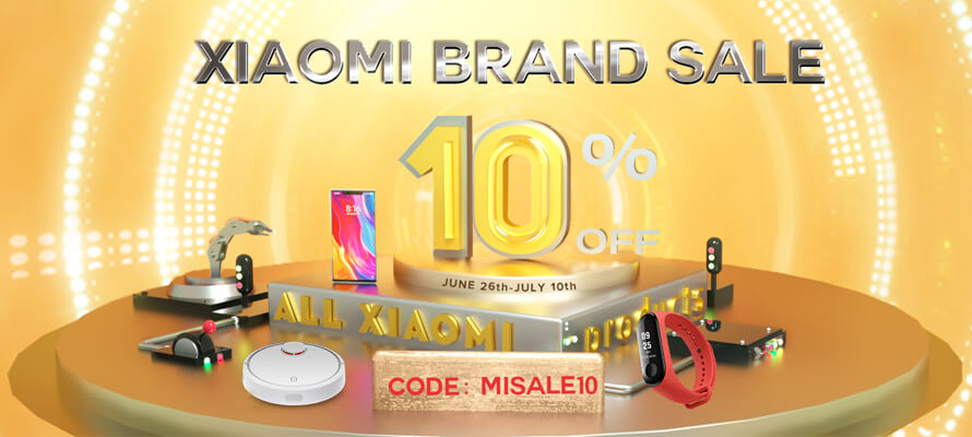 Xiaomi Brand Sales 10% Off: The Lowest Price in The World