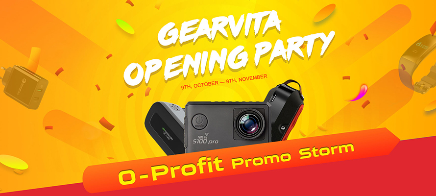 GearVita Opening Party Sale: up to 90%