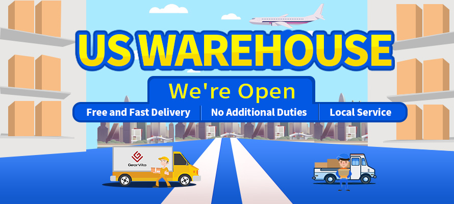 GearVita US Warehouse is Opening!