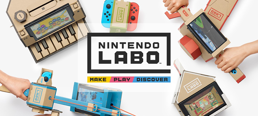 Nintendo Labo - A Creative and Amazing Gaming Cardboard