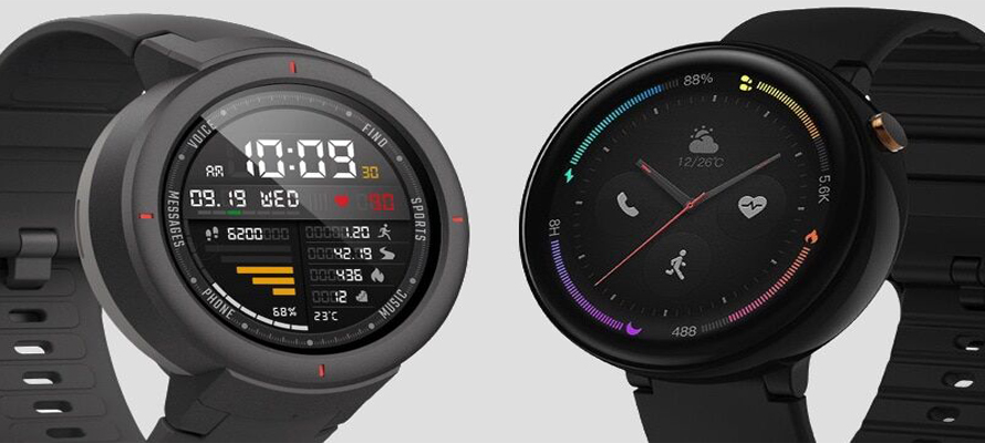 Comparison for Huami Amazfit Verge 2 VS Amazfit Verge Smart Watch