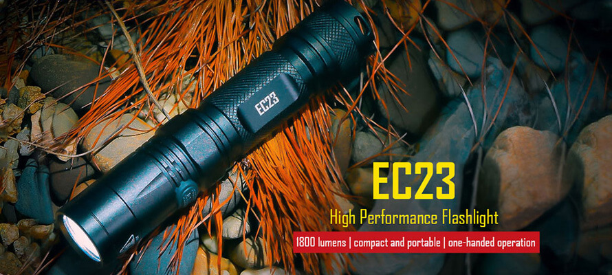 You Would Not Regret Getting A Light Like Nitecore EC23 LED Flashlight