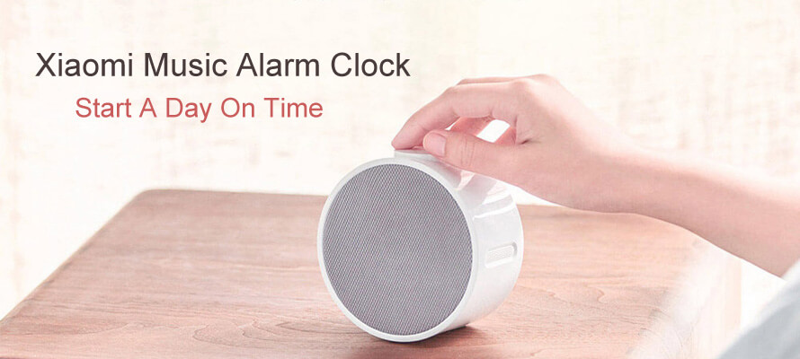 Xiaomi Mi Music Alarm Clock Helps You Wake Up And Start A Day on Time