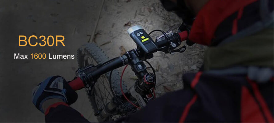 Fenix BC30R Bike Light is Very Powerful for Bicycle Lighting