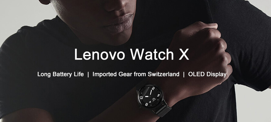 Lenovo Watch X: Smartwatch with Classic Design And Advancd Features