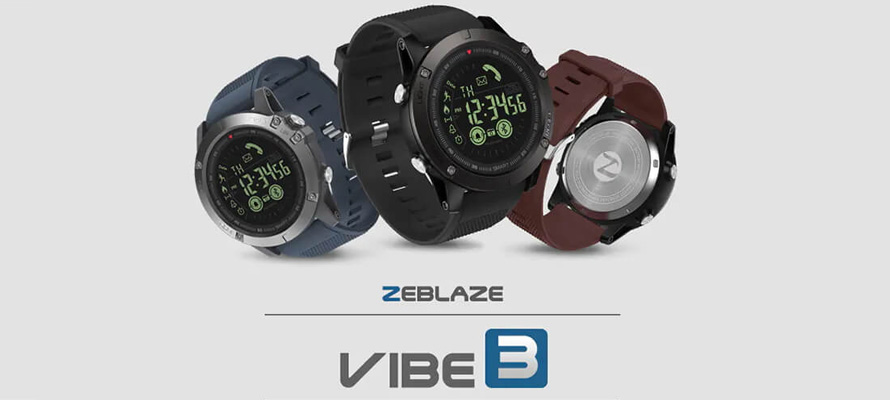 Zeblaze Vibe 3 Review: An Affordable Smartwatch That Has The Longest Battery Life of 33 Months