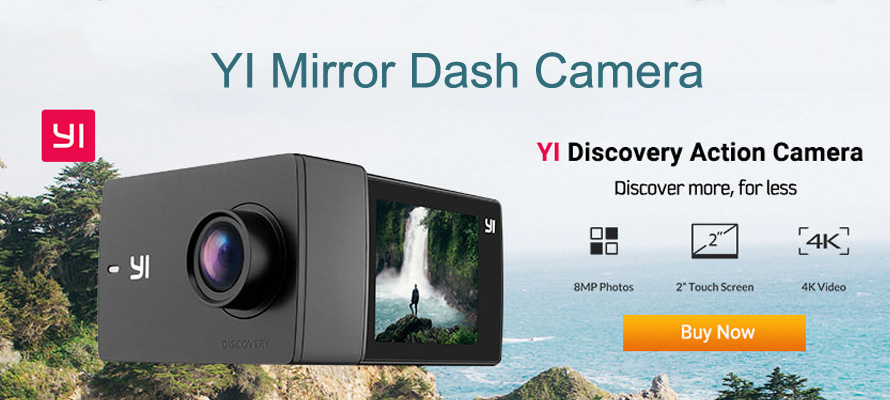 YI Mirror Dash Camera Review: Helps You to See More And Drive Safer