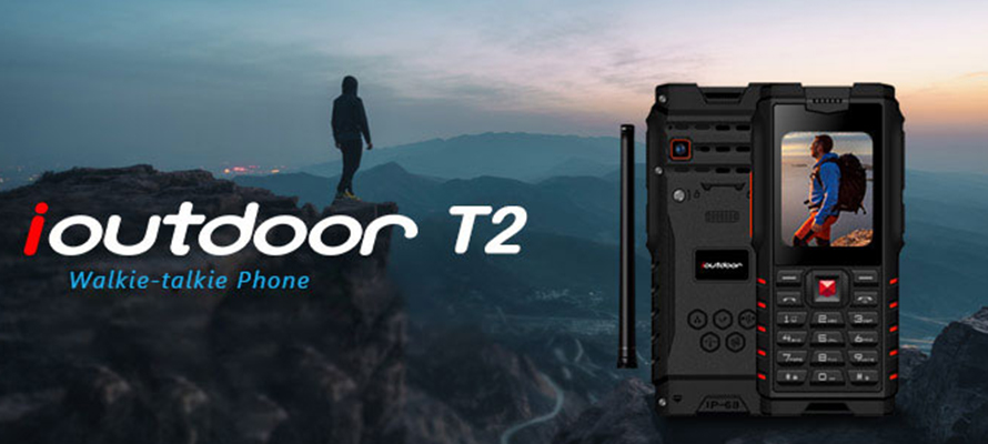 Ioutdoor T2 Walkie Talkie Phone - The Best Outdoor Helper
