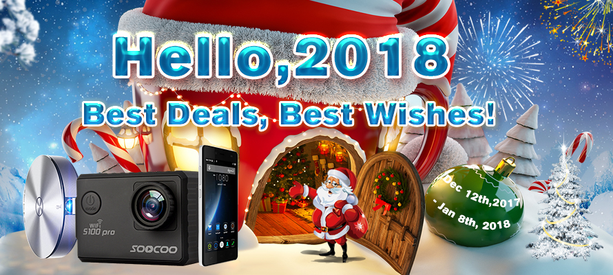 Catch the GearVita Year-end Promotion and Say Hello to 2018!
