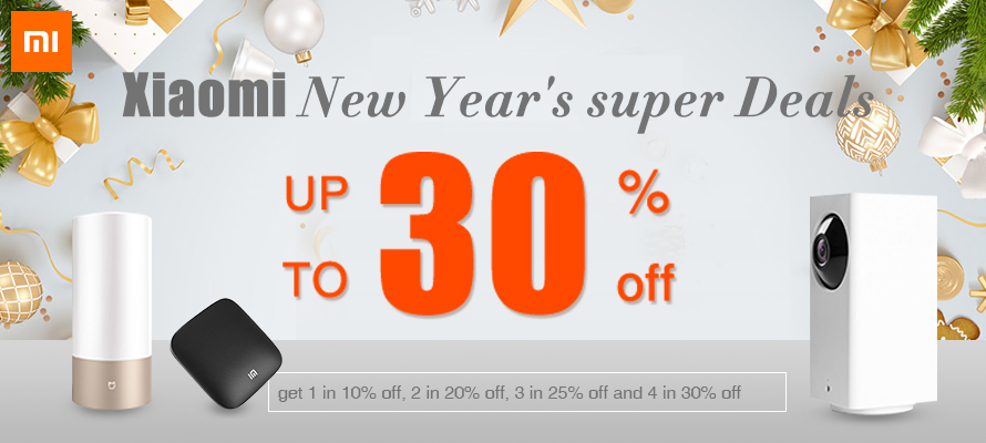 Xiaomi Exclusive Super Deal is Ready for You!