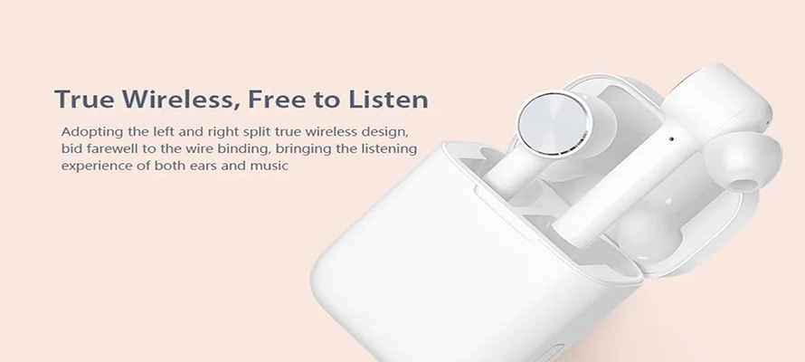 Xiaomi Mi Airdots Pro Earphones - very similar design to Apple's AirPods