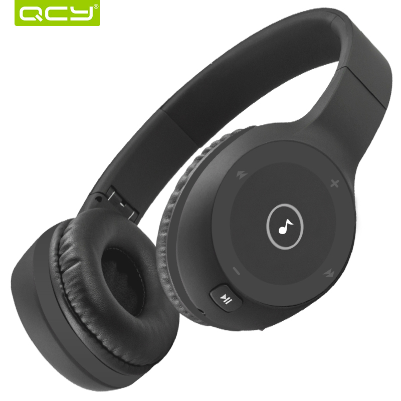 QCY J1 Noise Reduction Headphones Bluetooth Wireless Earphones with Mic фото