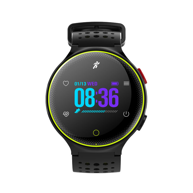 Microwear X2 Plus Sports Smartwatch Heart Rate Monitor фото