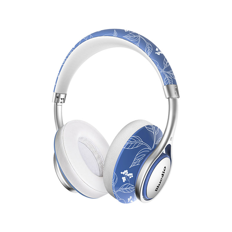 Bluedio A2 Fashion Foldable Bluetooth Headphones with Mic Type-C NICAM Sound фото