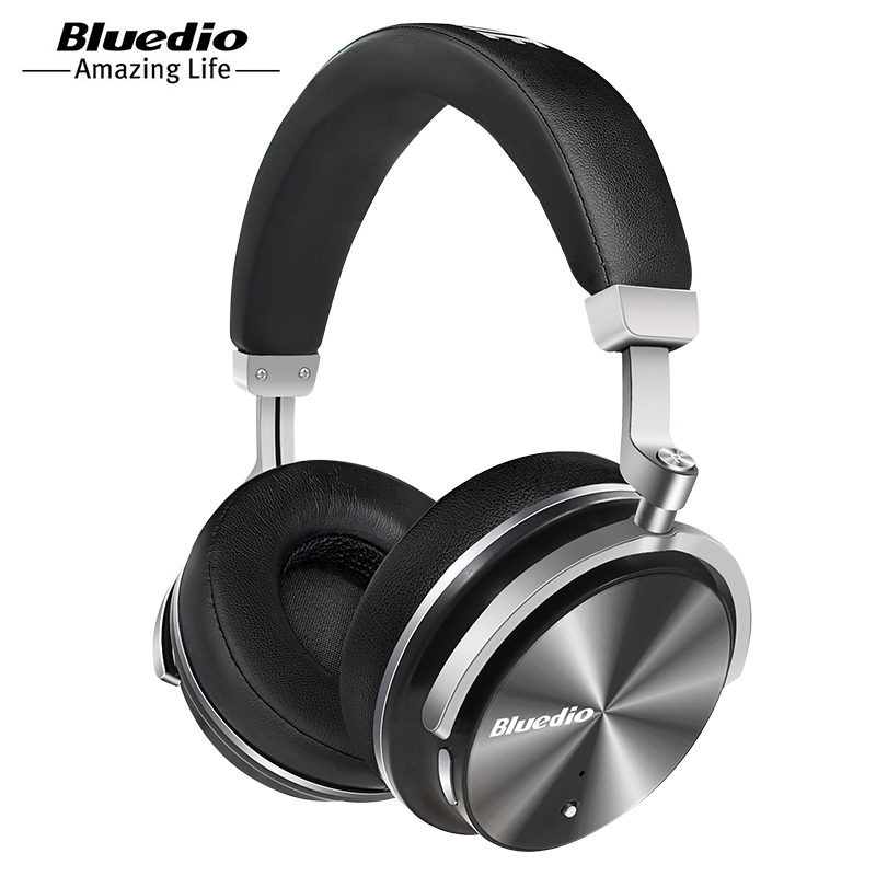 Bluedio T4 Active Noise Canceling Bluetooth Headphones with Mic Deep Bass фото