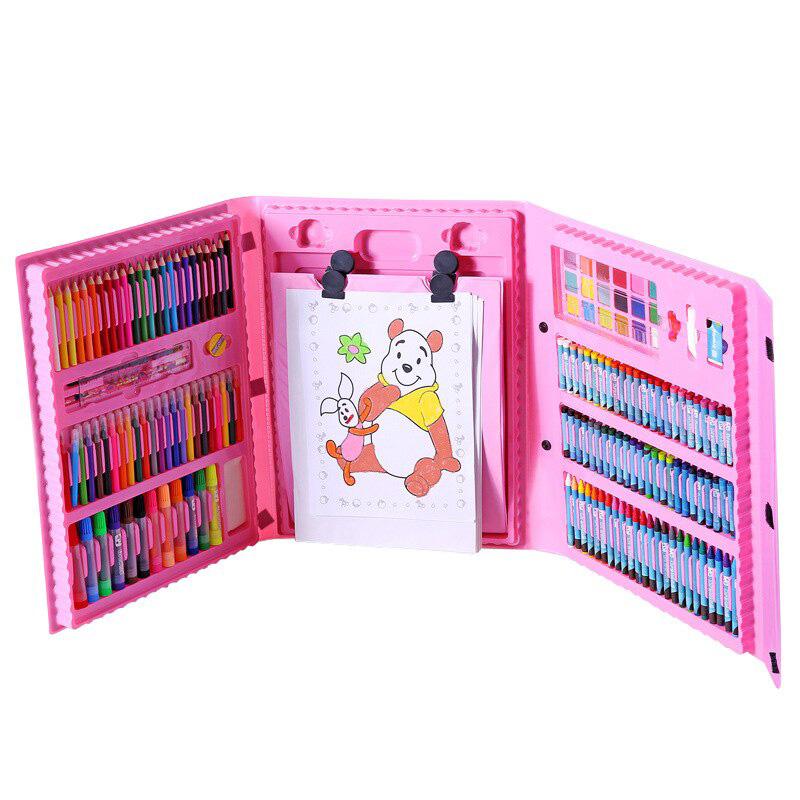 176PC Painting Gift Box Combination Children Watercolor Brush Pen фото