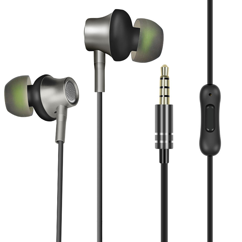 ZERMIE EMB-ZM-06 Metal Earphone with Deep Bass Stereo for iPhone Samsung Xiaomi фото