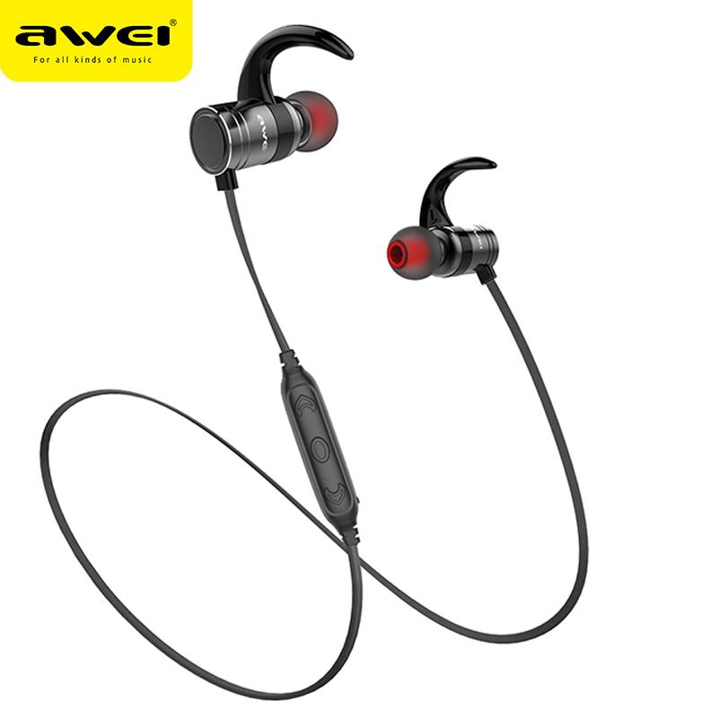 AWEI AK7 Wireless Bluetooth Waterproof Headphones with Microphone фото