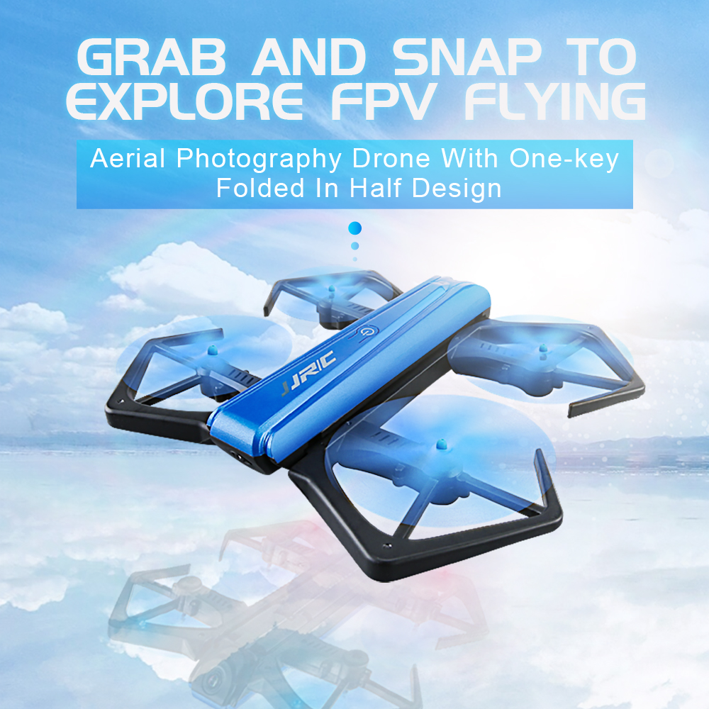 JJRC H43WH Mini Foldable Drone Headless RC Quadcopter with 720P Camcorder фото