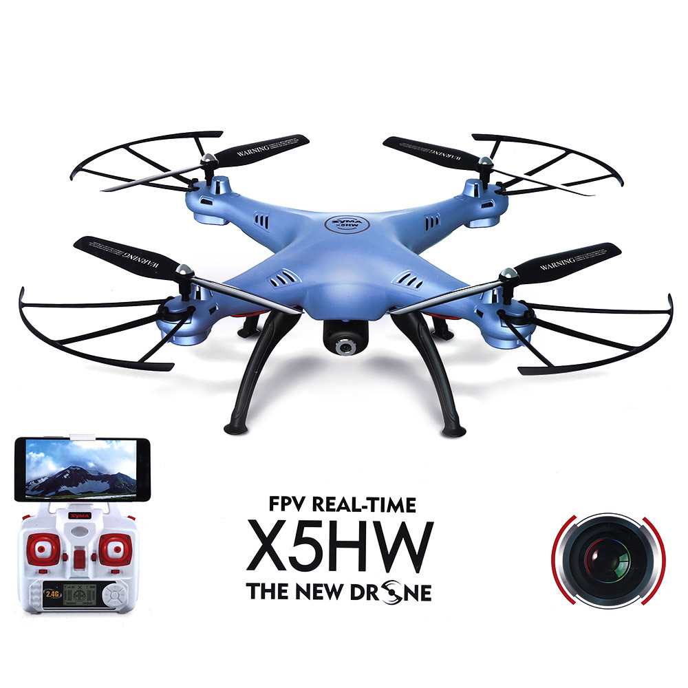 SYMA X5HW RC Drone Toy WiFi FPV HD in Real Time 2.4G 4CH Quadcopter фото