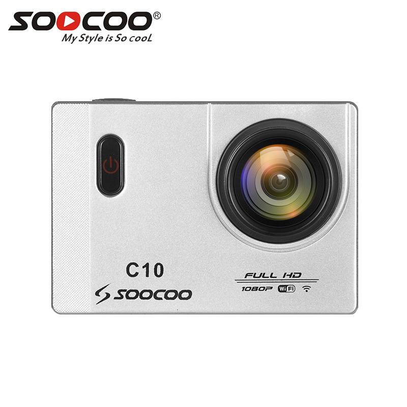 SOOCOO C10 HD Action Camera with WiFi Cam 170 Degrees Wide Waterproof Lens