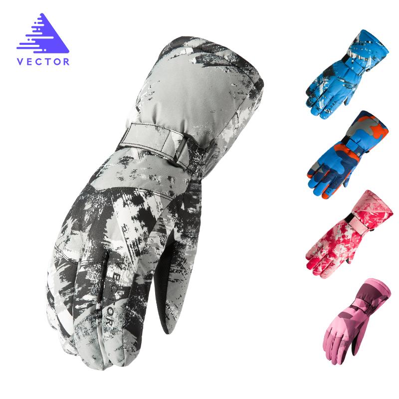 VECTOR Waterproof Ski Gloves Warm Outdoor Sport Winter Gloves