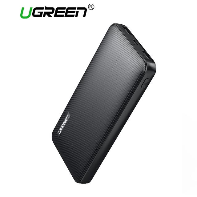Ugreen ED106 Power Bank 10000mAh Mobile Phone Charger фото