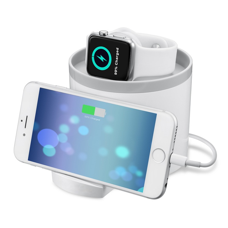 Seenda IPS-1215 Mobile Phone Charger Holder Apple Watch Stand фото