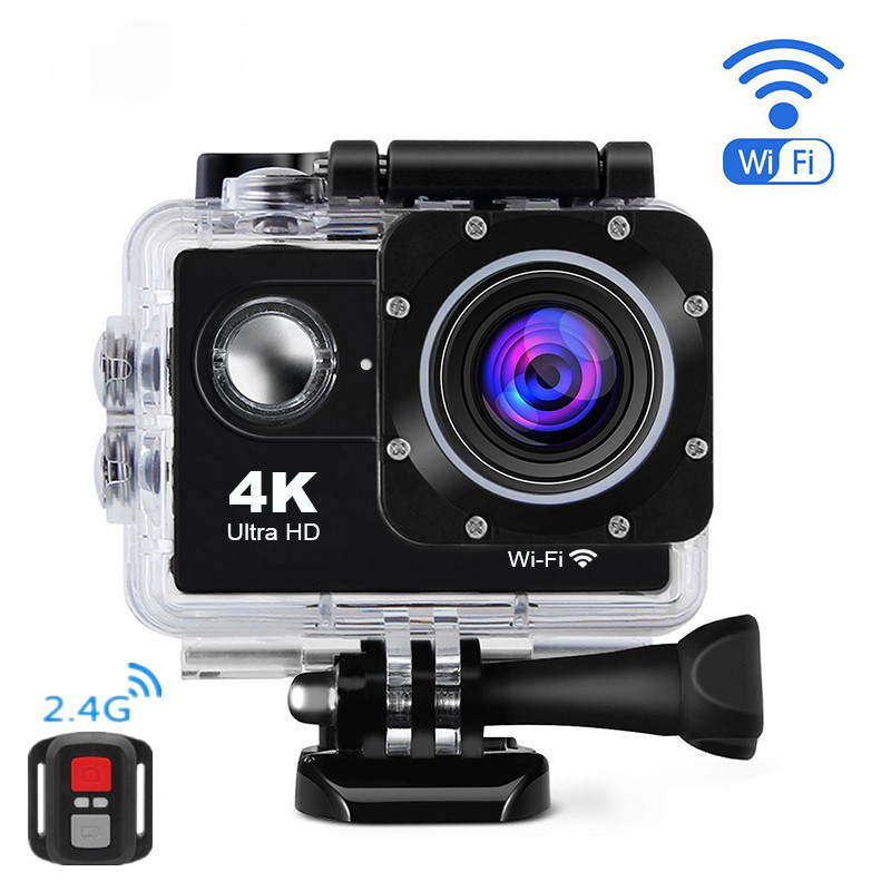 AT-4KR 4K WiFi Sport Camera with Remote Control фото