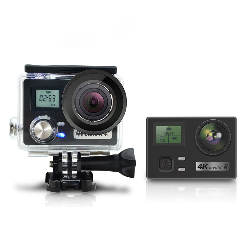 AT-N460 4K Wifi Sports Camera with Remote Control 2.4G фото