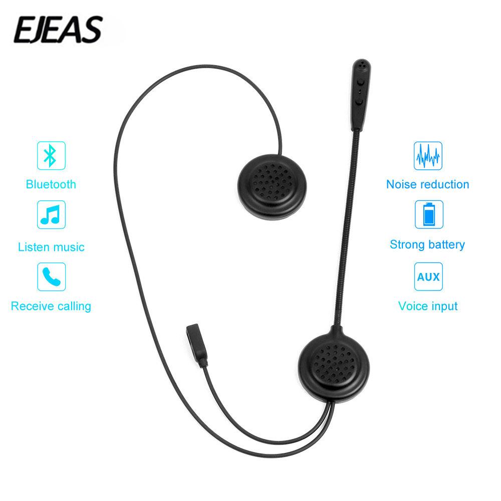 EJEAS E200 Motorcycle Helmet Headset Wireless Bluetooth Interphone фото