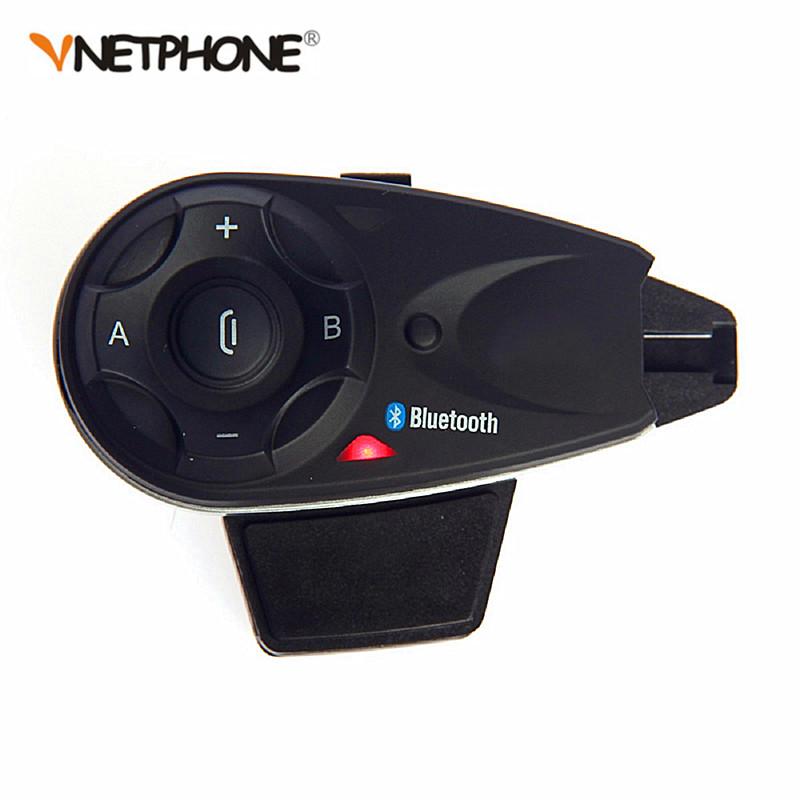 Vnetphone V5 Bluetooth Motorcycle Helmet Intercom Headset фото