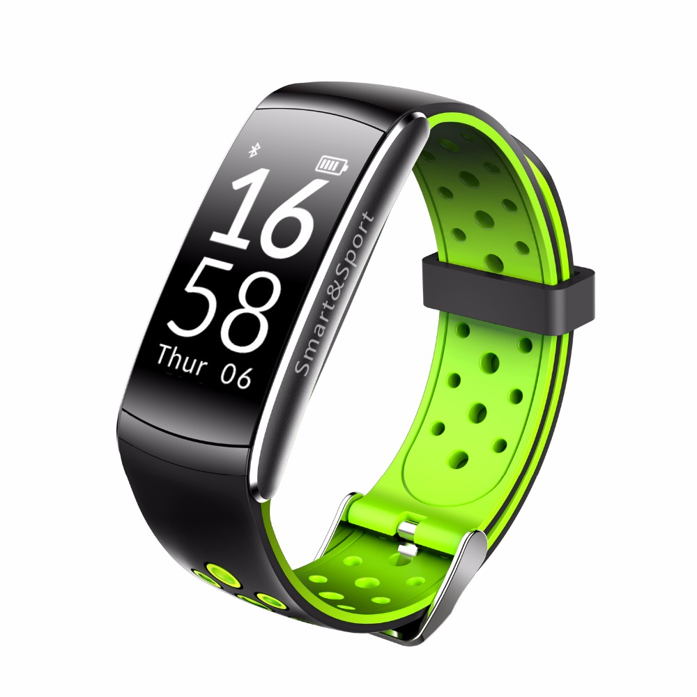 Купить со скидкой Q8 Smart Wristband Waterproof Blood Pressure Heart Rate Monitor Fitness Tracker