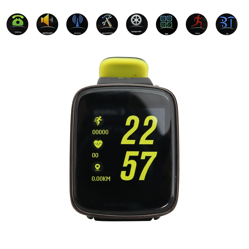 KingWear GV68 IP68 Waterproof Smart Watch Heart Rate Monitor Bluetooth 4.0 фото
