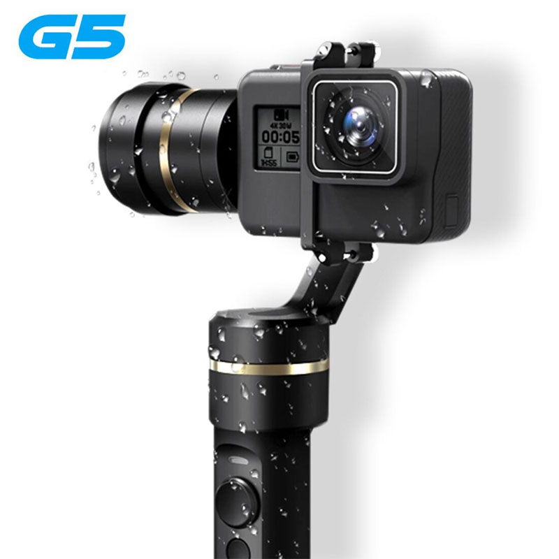 Feiyu G5 3-Axis Handheld Gimbal Stabilizer for GoPro Hero 5/4/3 Action Camera фото