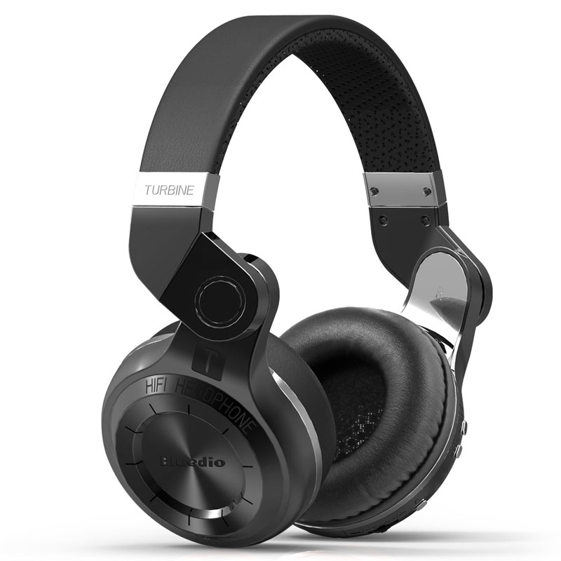 Bluedio T2 Wireless Bluetooth Stereo Headphones with Mic Rotary Foldable Style фото