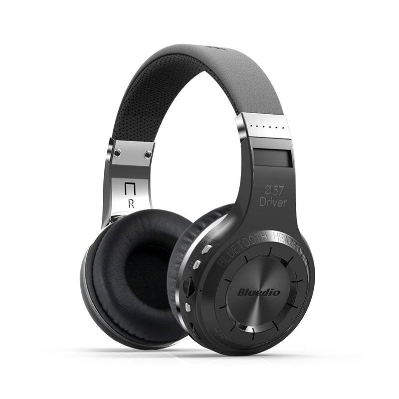 Bluedio H+(Turbine) Wireless Bluetooth Stereo Headphones with TF Slot FM Mic фото