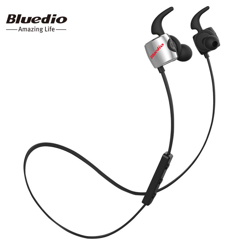 Bluedio TE Sports Wireless Bluetooth In-ear Earphones with Mic Double-cavity фото