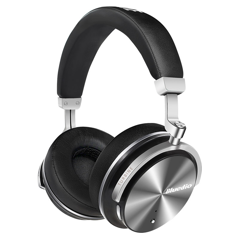 Bluedio T4S Over-ear Bass Bluetooth Headphones with Mic Active Noise Cancelling фото