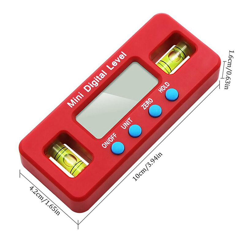 Mini Electronic Digital Display Magnetic Level Angle Gauge