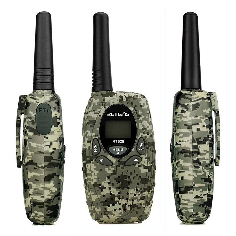 2PCS Retevis RT628 Civilian Handheld Intercom Children Radio Set фото