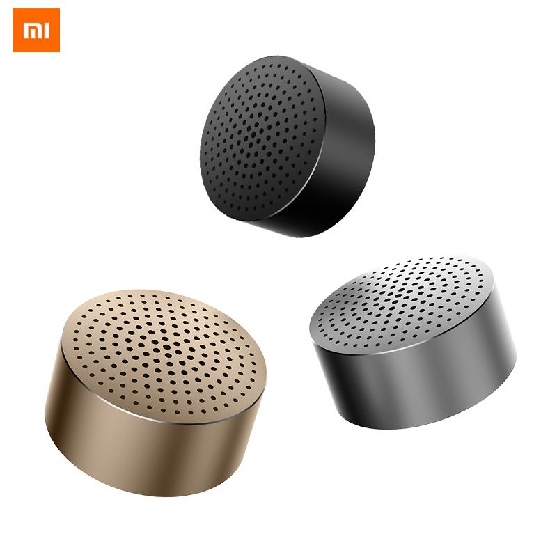 Купить со скидкой Xiaomi Mini Subwoofer Portable Wireless Bluetooth Speaker