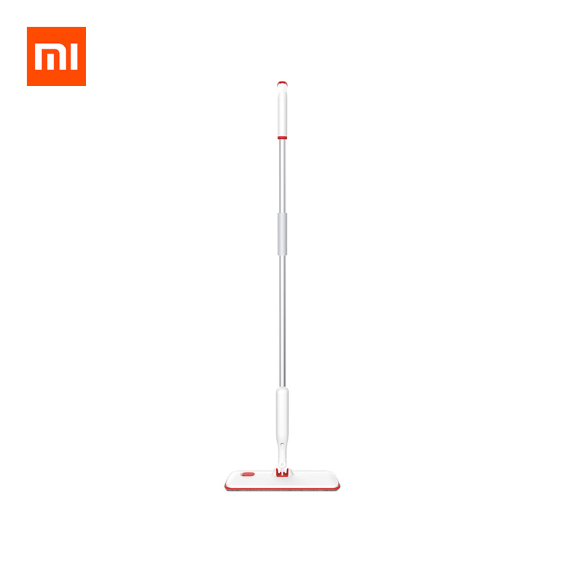 Xiaomi YIJIE 2 In 1 Flat Spray Floor Mop 360° Universal Rotating Home Cleaning Tools Microfiber Cloth фото