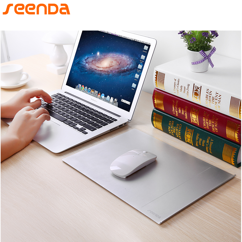 SeenDa IPS-12 Aluminum Alloy Mouse Pads for Office Luxury Simple Slim Matte фото