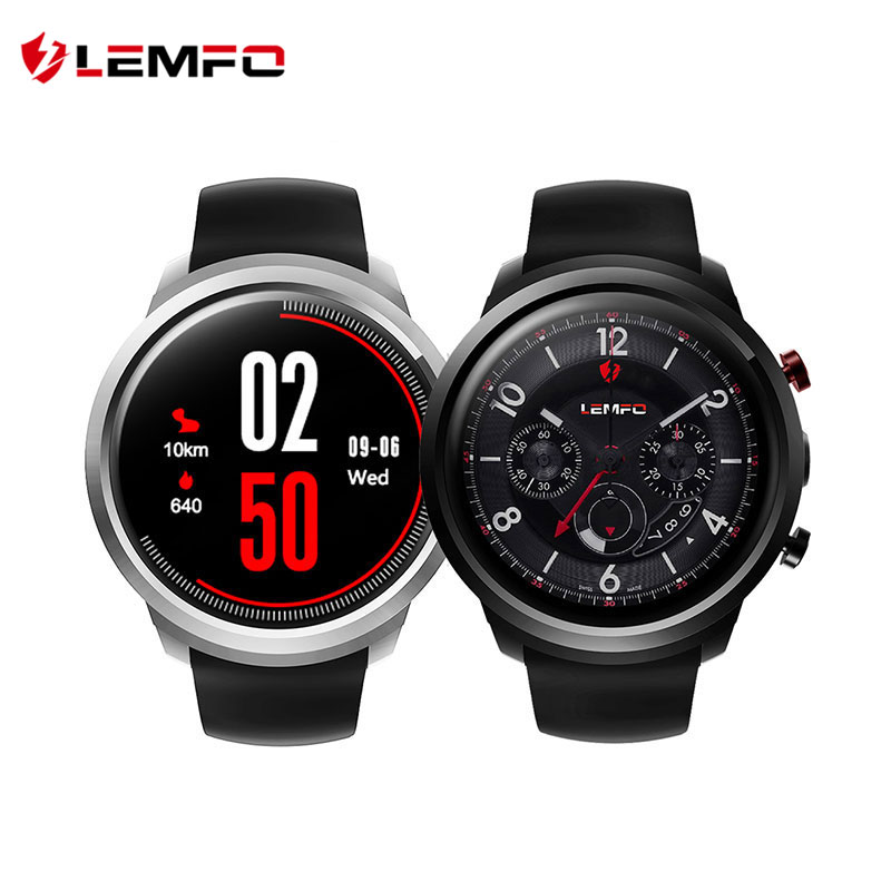 LEMFO LEF2 Android 5.1 Smartwatch Phone 8GB ROM 2.0MP Camera Heart Rate Monitor