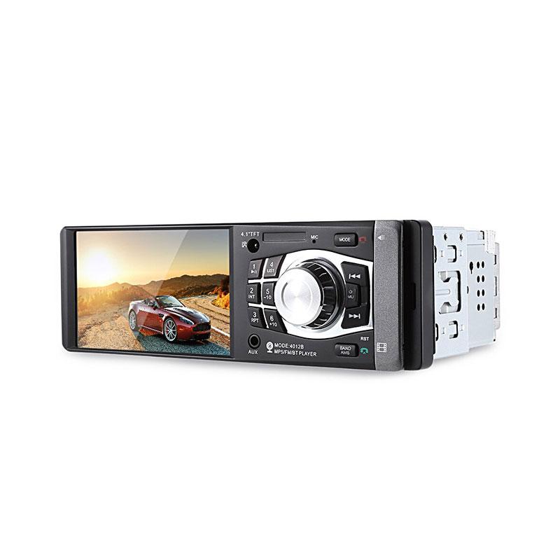 4012B 4.1 inch Car MP5 Audio Video Player Bluetooth Hands-free Calls AUX FM USB TF фото