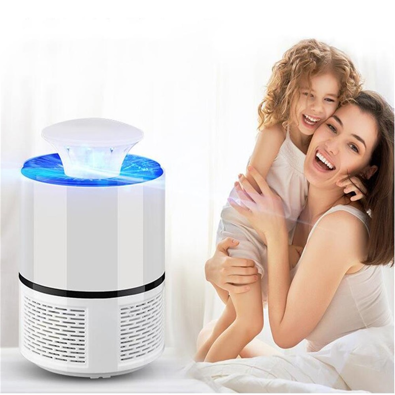 Electric Mosquito Insect Zapper Killer with LED Trap Lamp USB Powered фото
