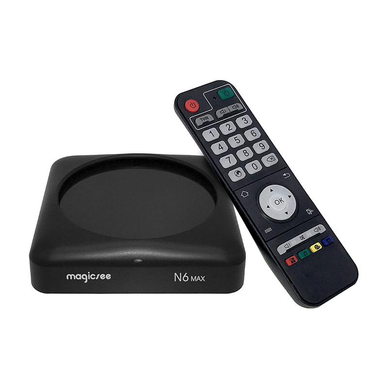 MAGICSEE N6 MAX TV Box 4GB RAM 32GB ROM фото