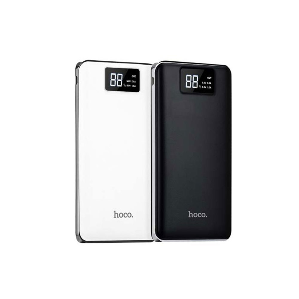 HOCO B23 10000mAh Portable Power Bank with Dual USB and Digital Display фото