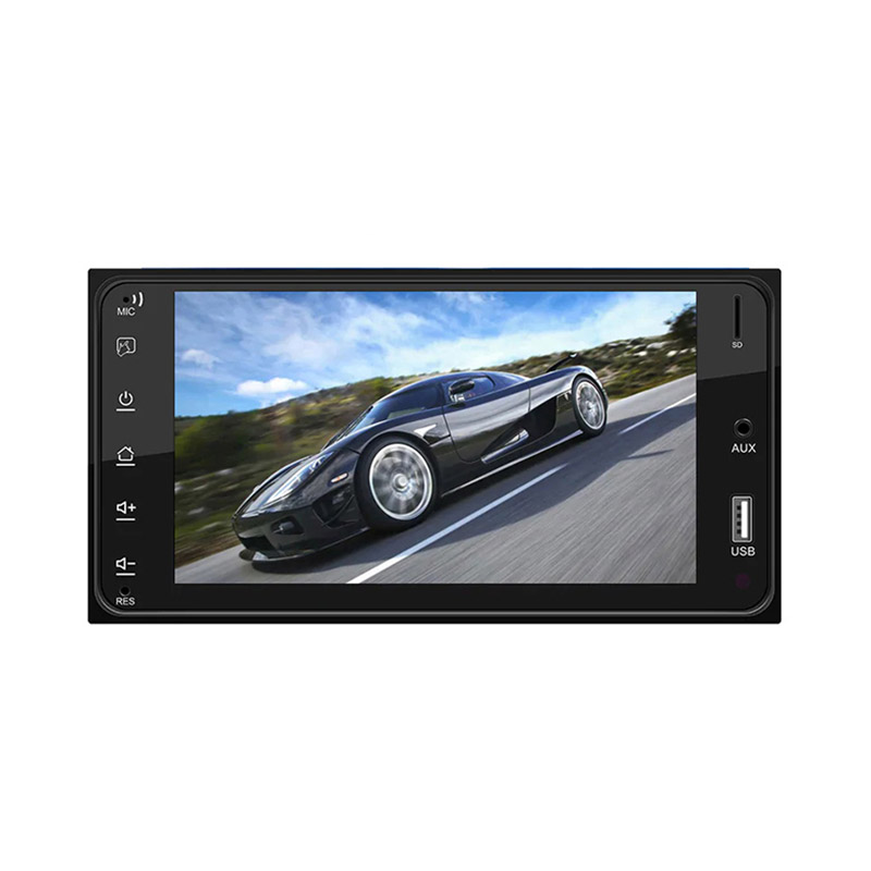 7 inch Car Multimedia Player for Toyota Corolla HD Touch Screen Mirror Link Support фото